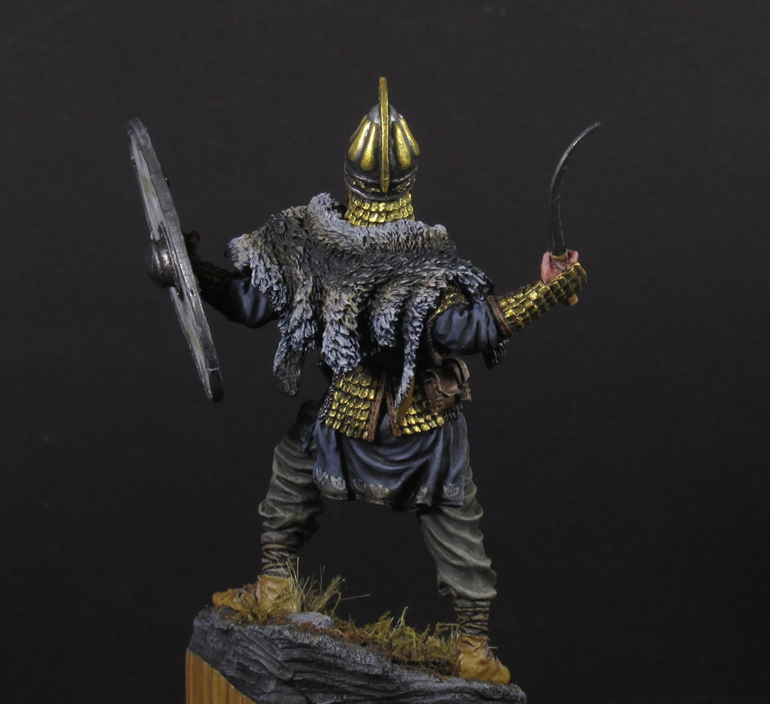 Figures: Dacian warrior, photo #3