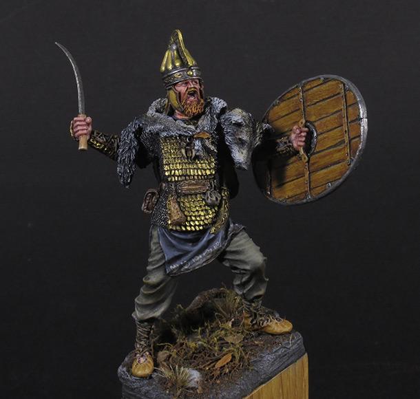 Figures: Dacian warrior