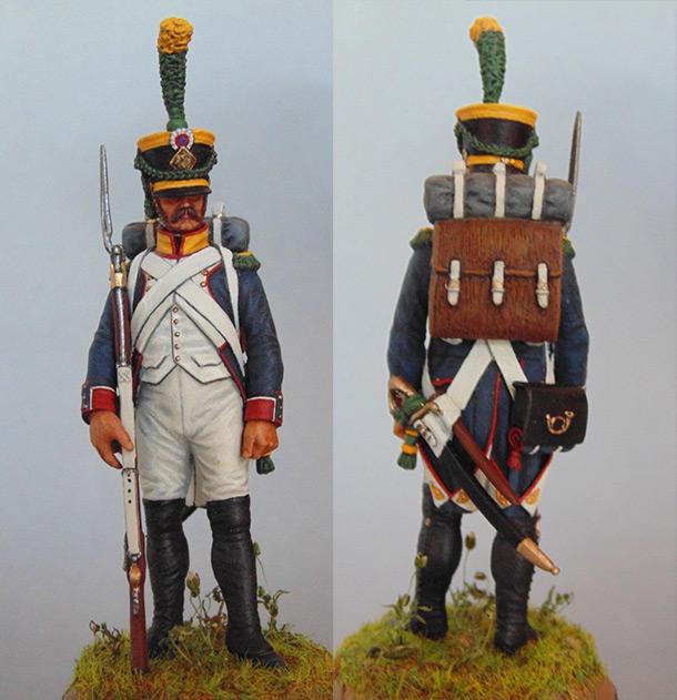 Figures: Voltigeurs d'infanterie de ligne
