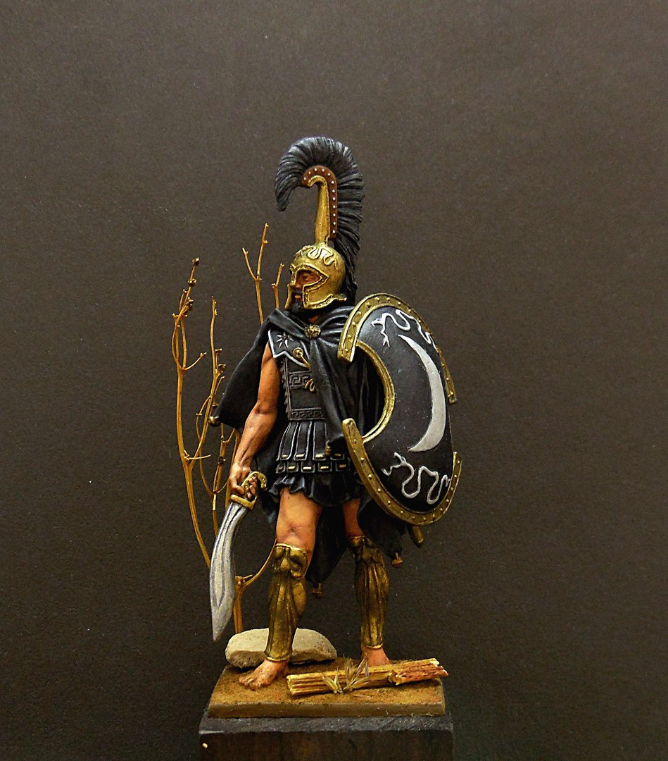 Figures: Thespian hoplite, photo #1