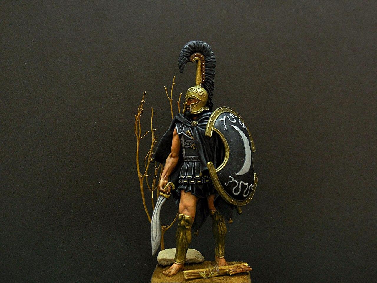 Figures: Thespian hoplite, photo #2