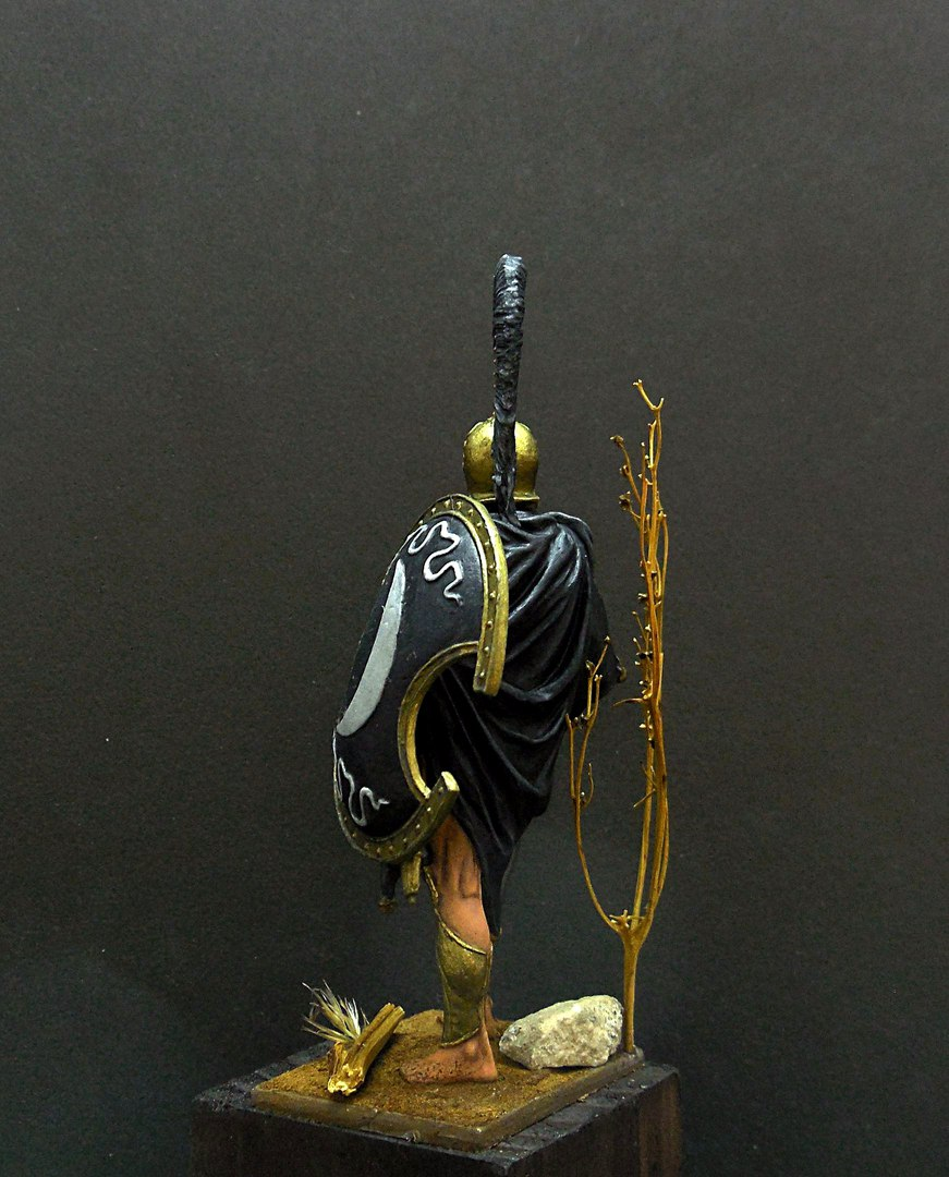 Figures: Thespian hoplite, photo #3