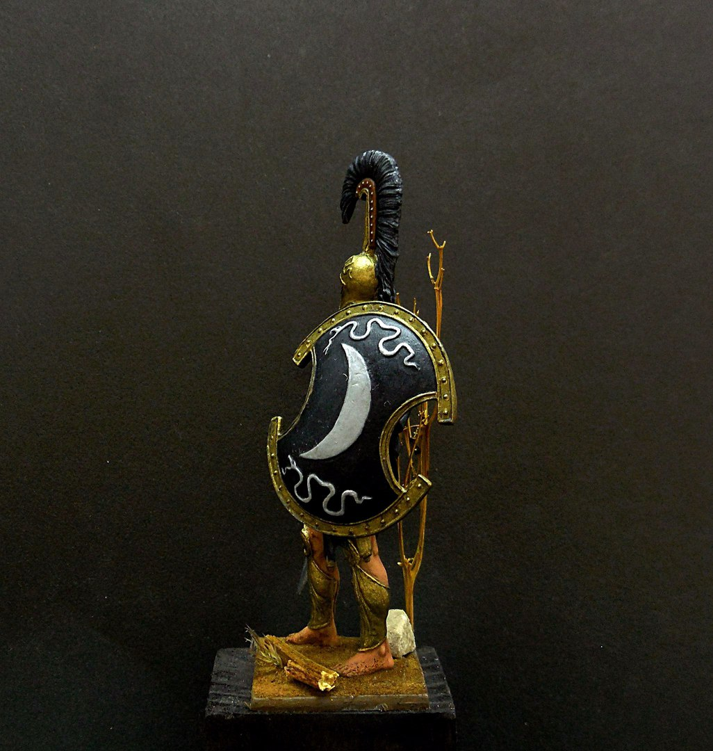 Figures: Thespian hoplite, photo #4