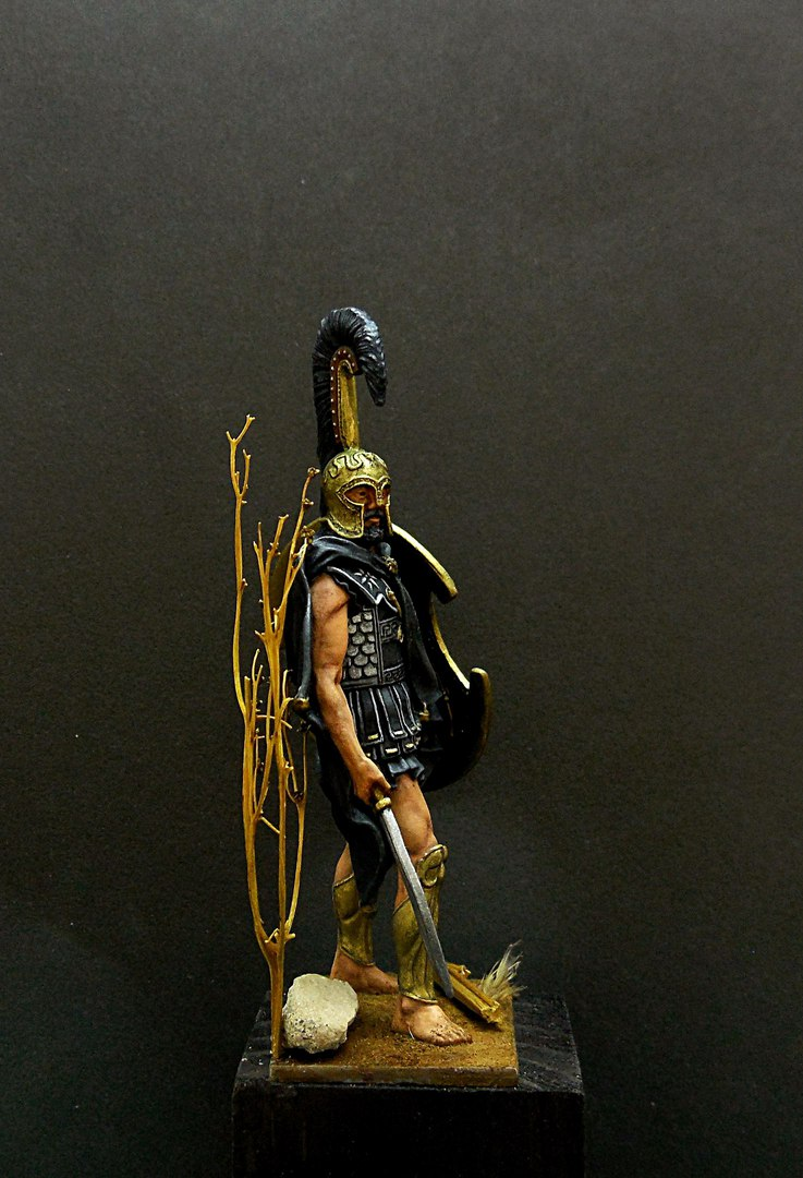 Figures: Thespian hoplite, photo #5