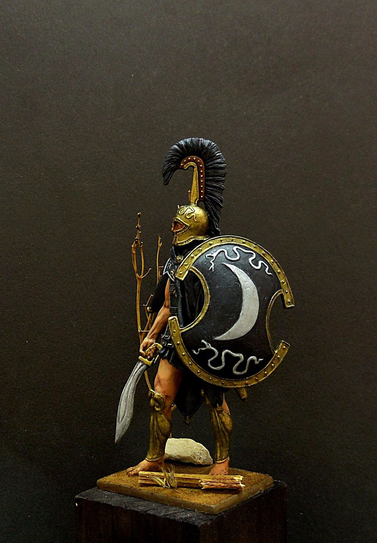 Figures: Thespian hoplite, photo #6