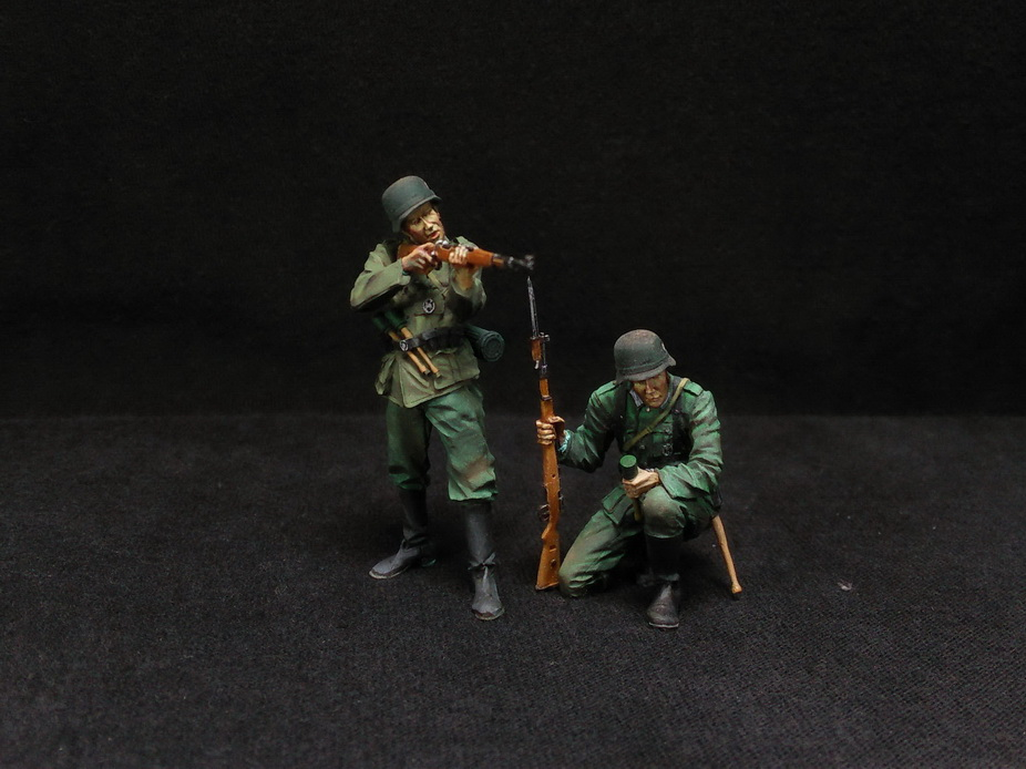 Figures: German Infantry in action, photo #11