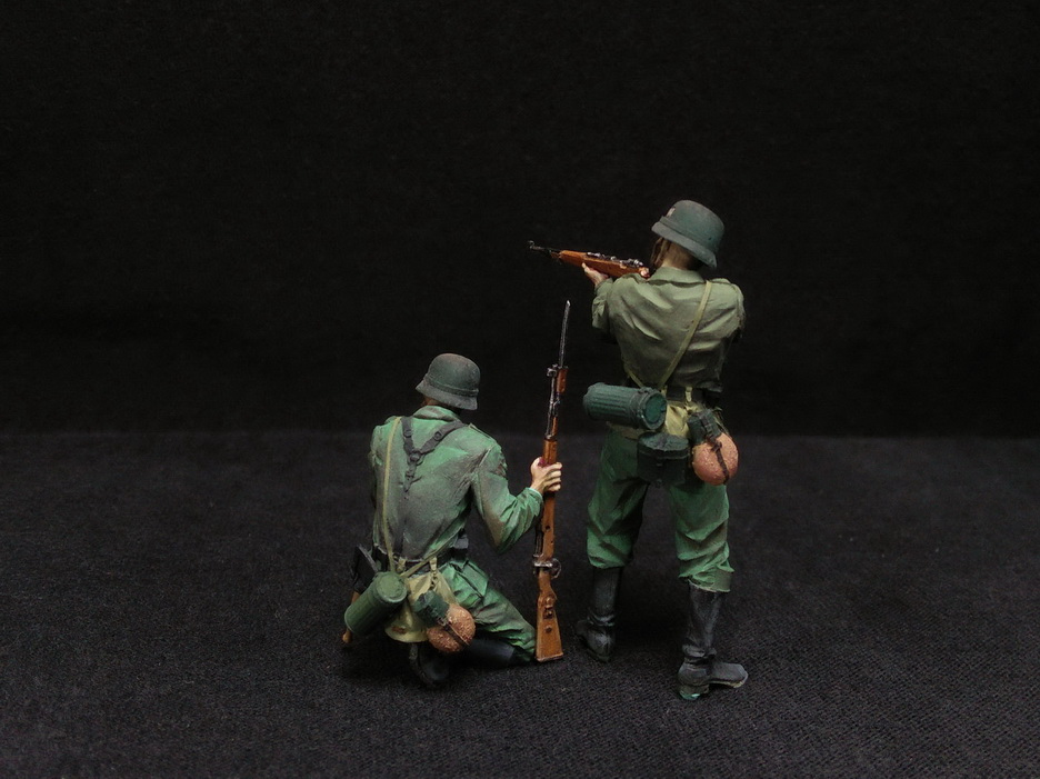 Figures: German Infantry in action, photo #12