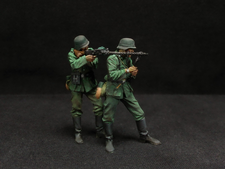 Figures: German Infantry in action, photo #13