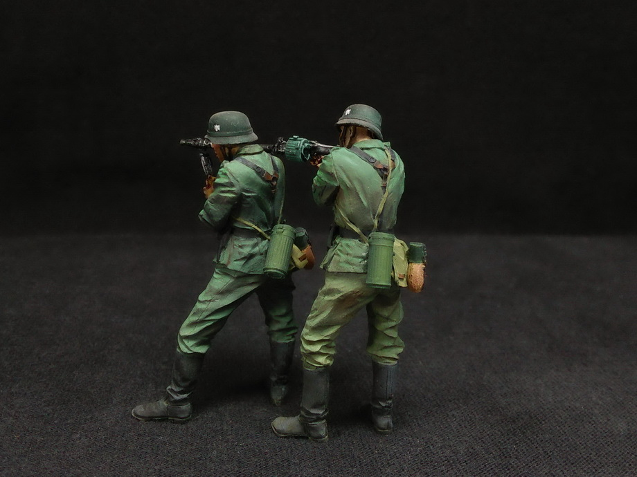 Figures: German Infantry in action, photo #14