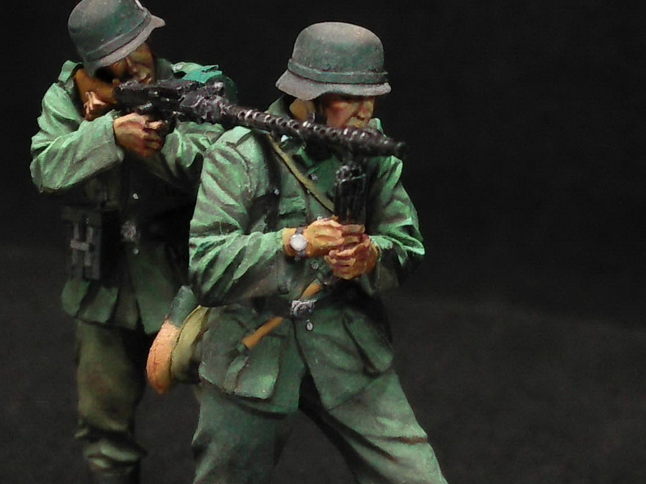 Figures: German Infantry in action, photo #15