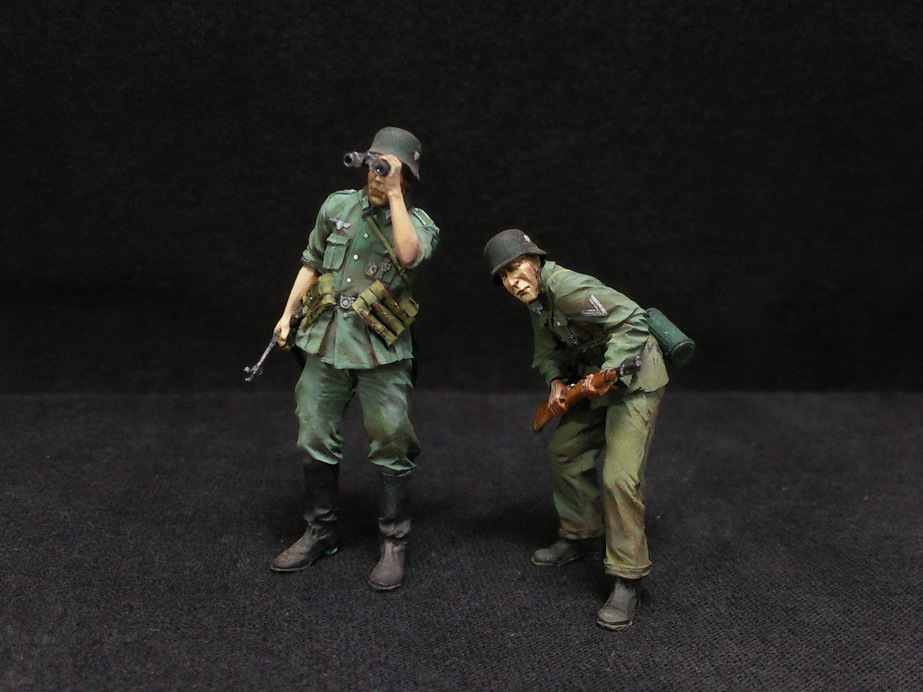 Figures: German Infantry in action, photo #17