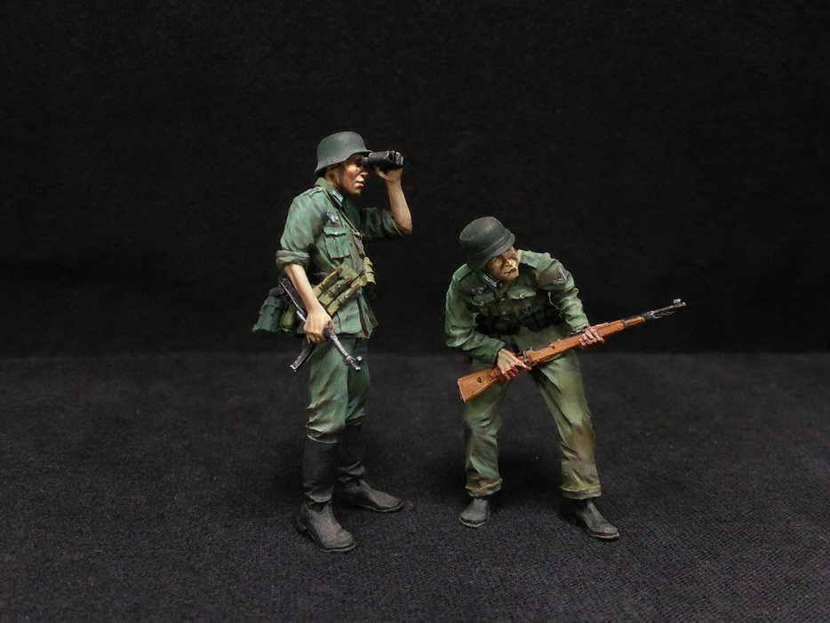 Figures: German Infantry in action, photo #4