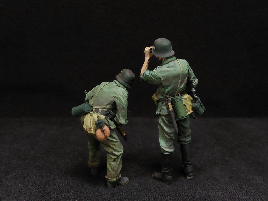Figures: German Infantry in action, photo #5