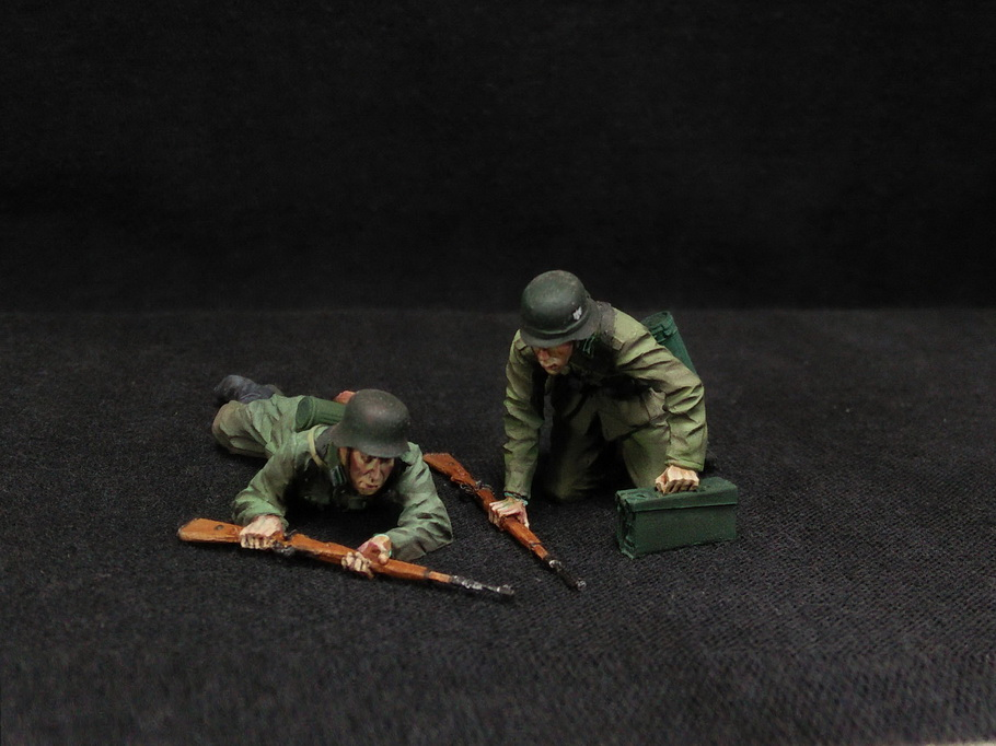 Figures: German Infantry in action, photo #6