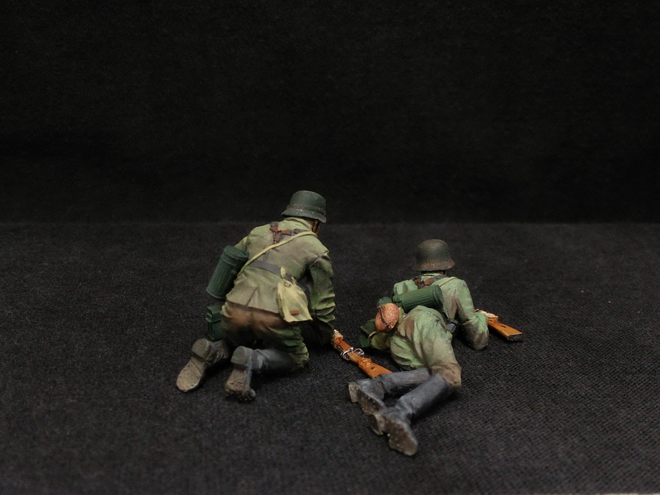 Figures: German Infantry in action, photo #7