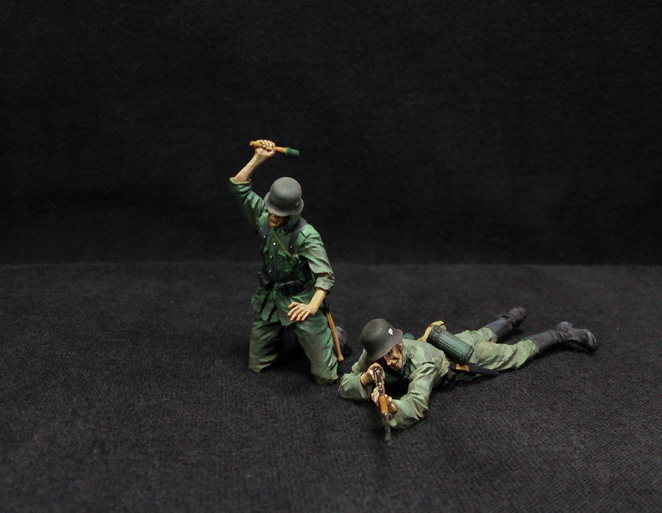 Figures: German Infantry in action, photo #8