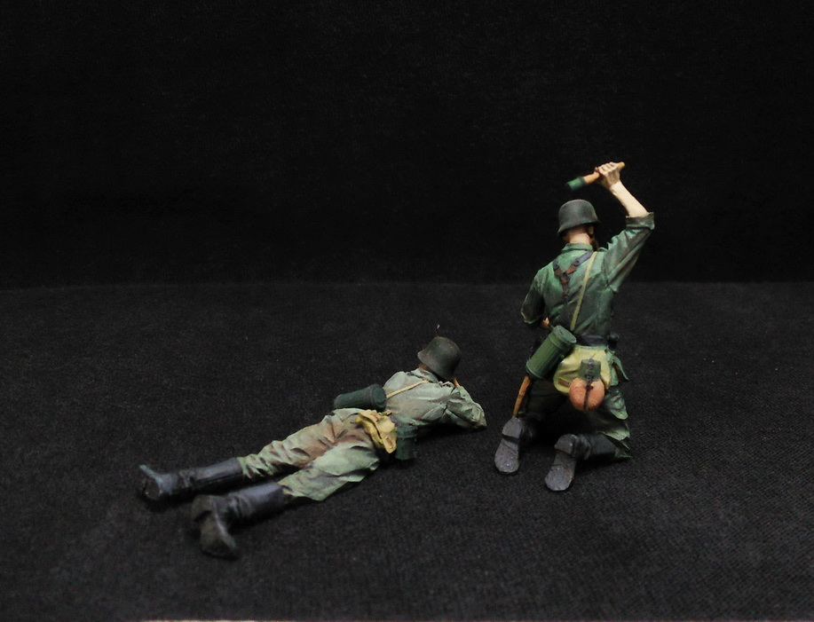 Figures: German Infantry in action, photo #9
