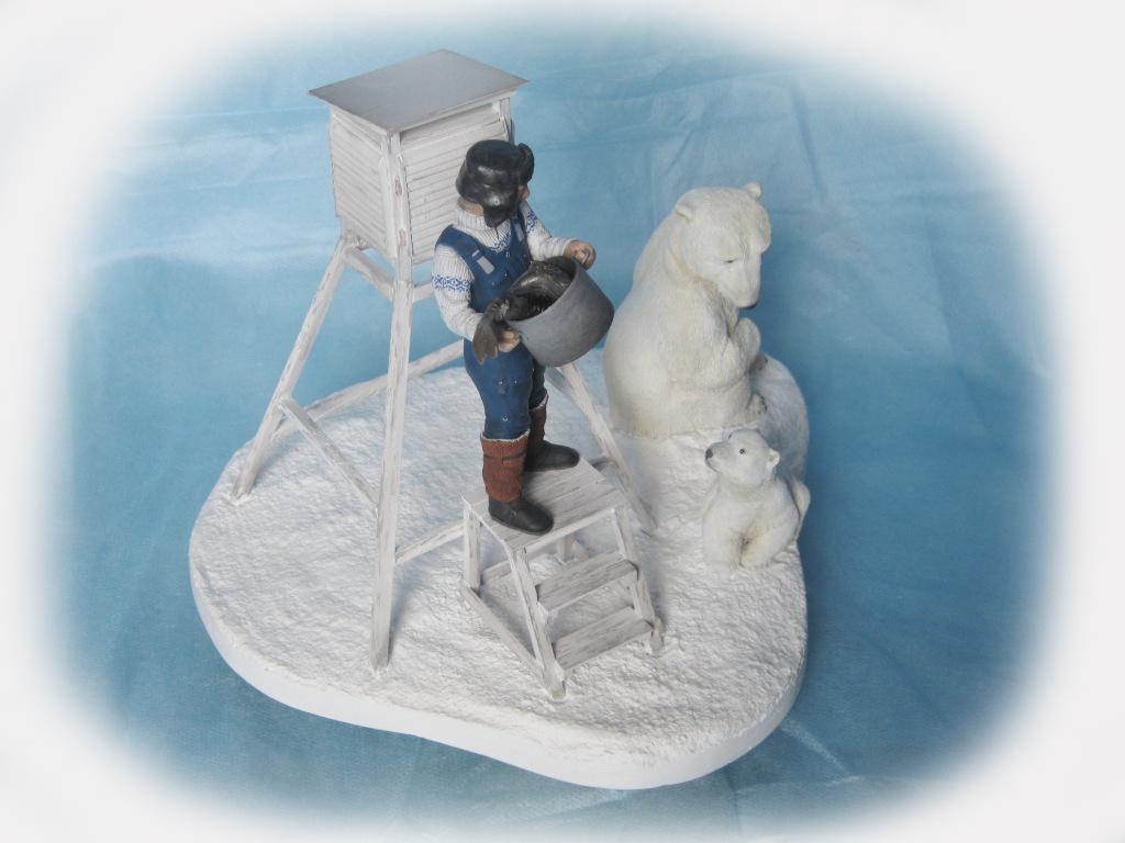 Sculpture: Umka, leave him!, photo #3