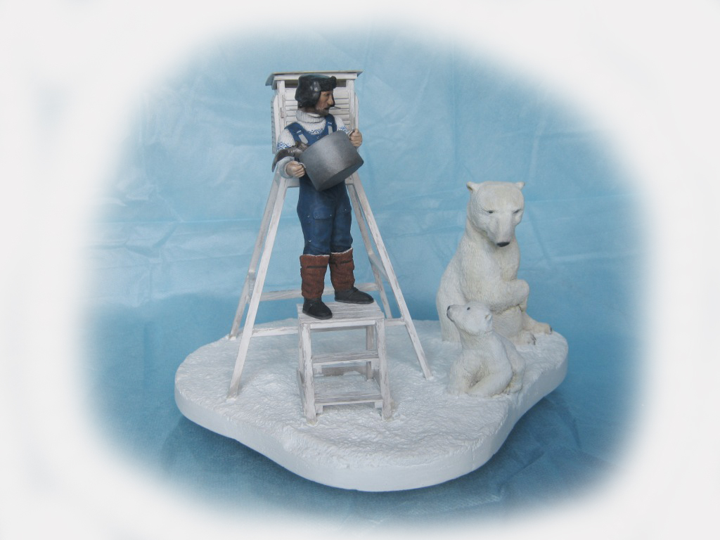 Sculpture: Umka, leave him!, photo #4
