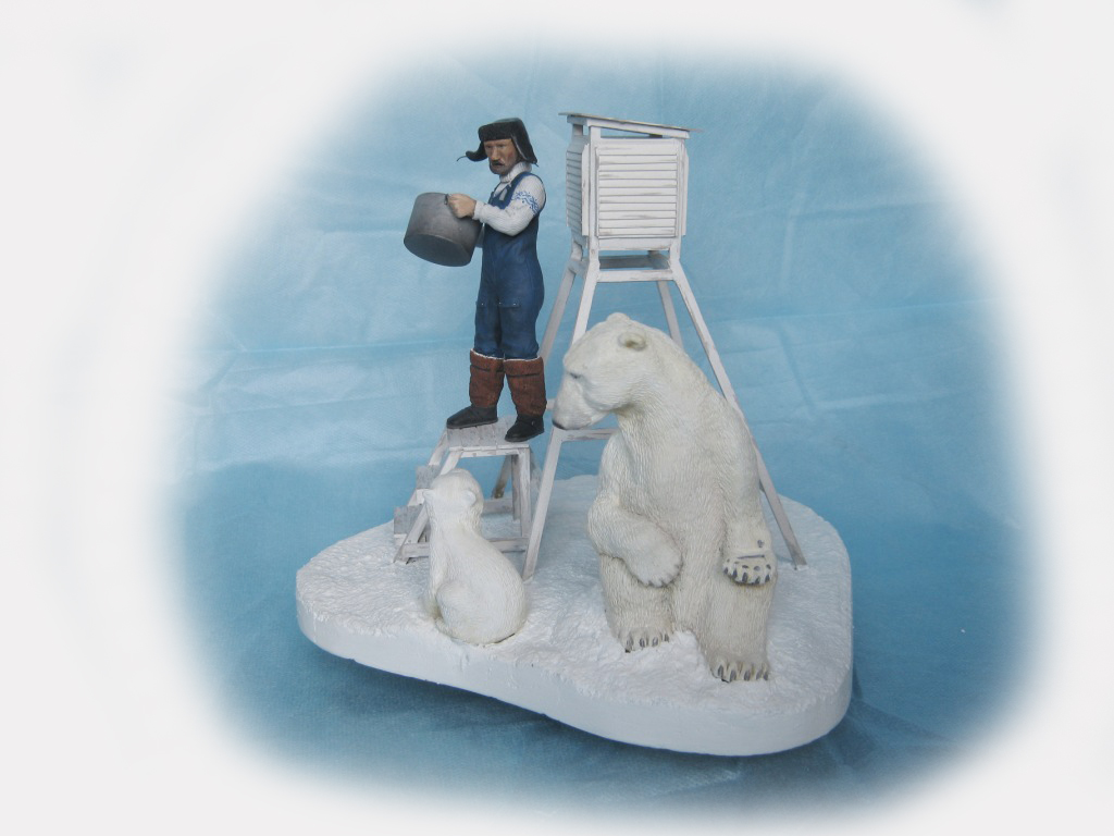Sculpture: Umka, leave him!, photo #6