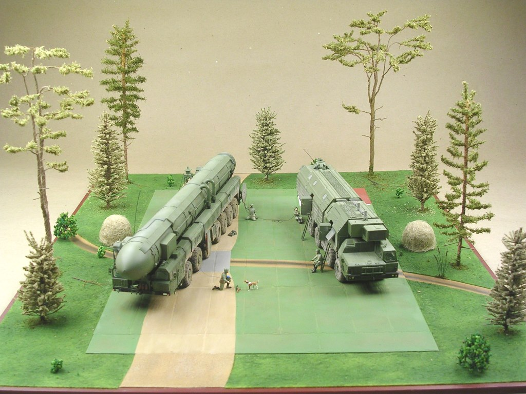Dioramas and Vignettes: MOBD Sickle on firing position, photo #1
