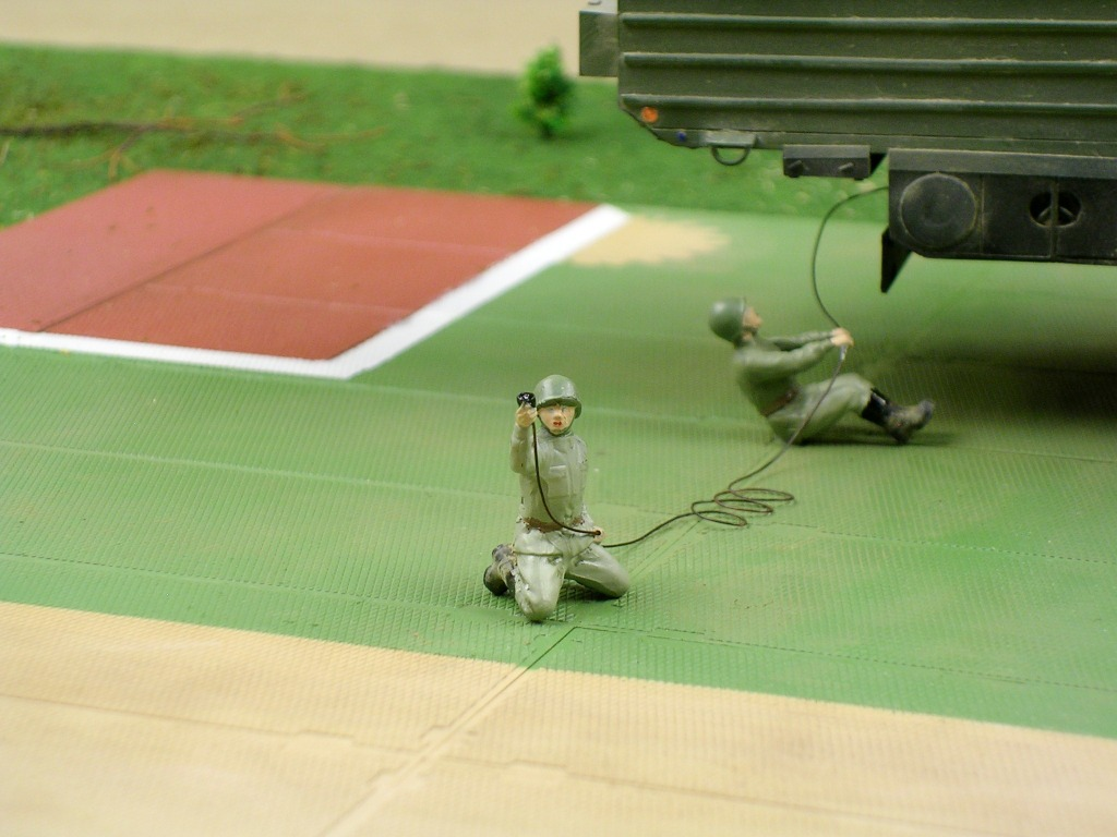 Dioramas and Vignettes: MOBD Sickle on firing position, photo #14