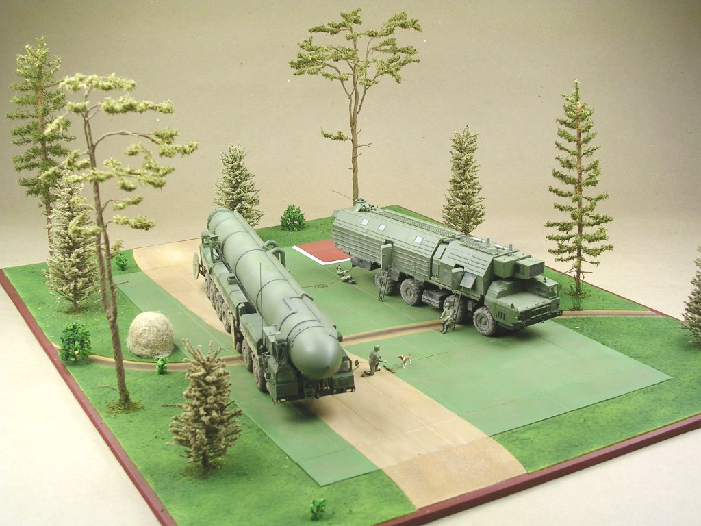 Dioramas and Vignettes: MOBD Sickle on firing position, photo #2