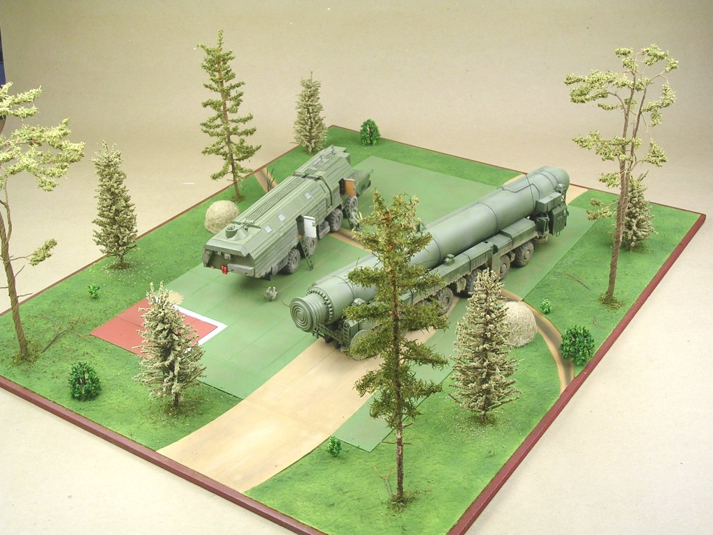 Dioramas and Vignettes: MOBD Sickle on firing position, photo #3