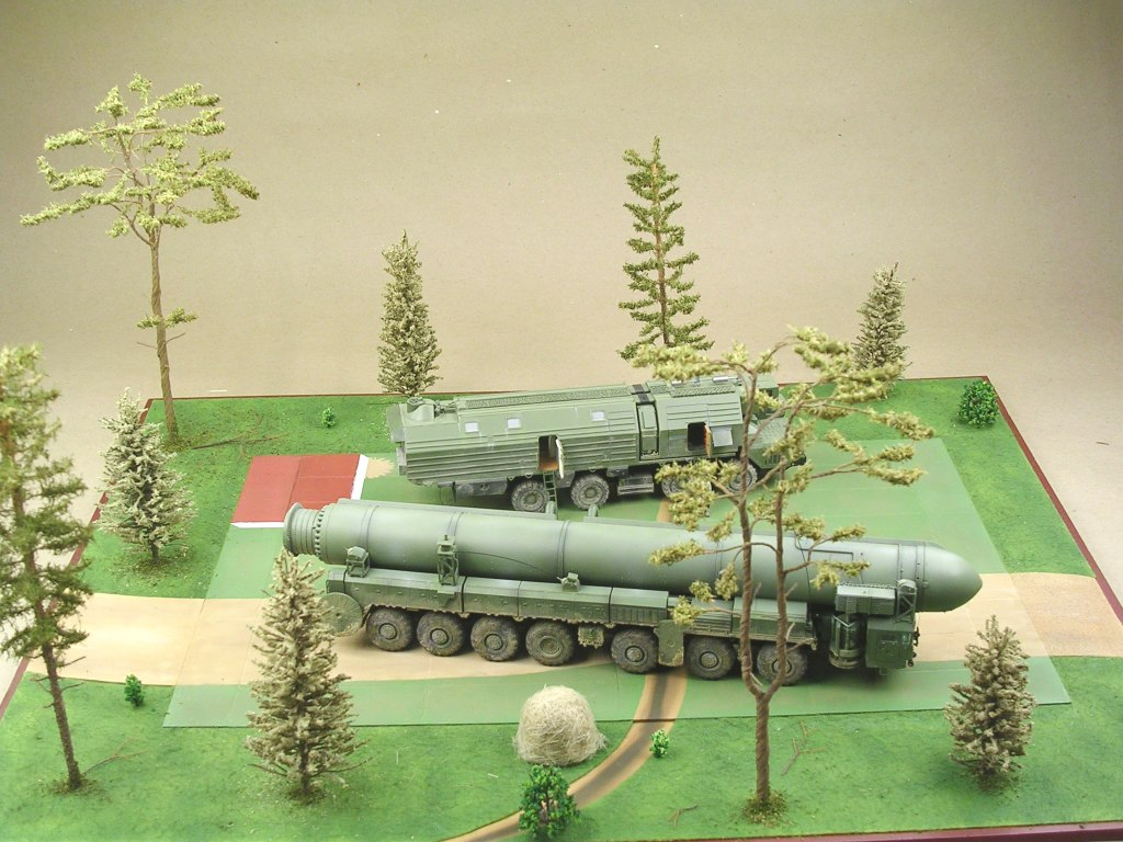 Dioramas and Vignettes: MOBD Sickle on firing position, photo #4