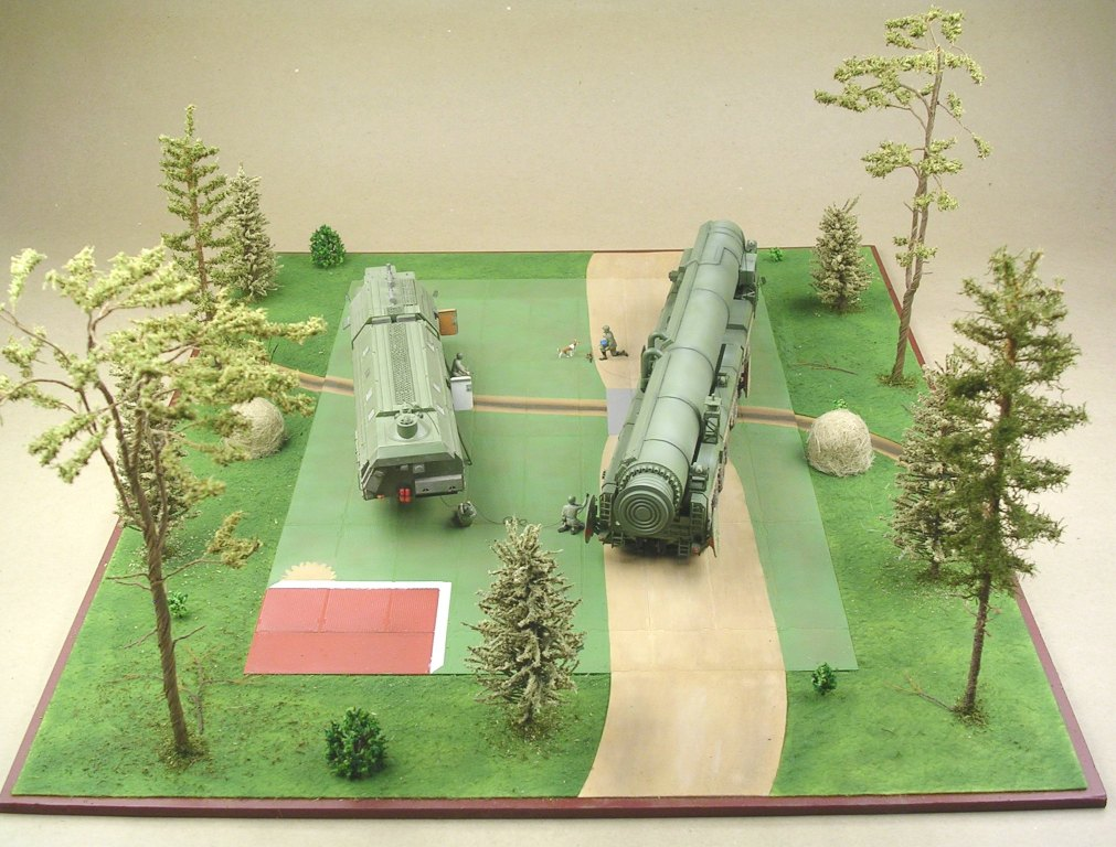 Dioramas and Vignettes: MOBD Sickle on firing position, photo #7