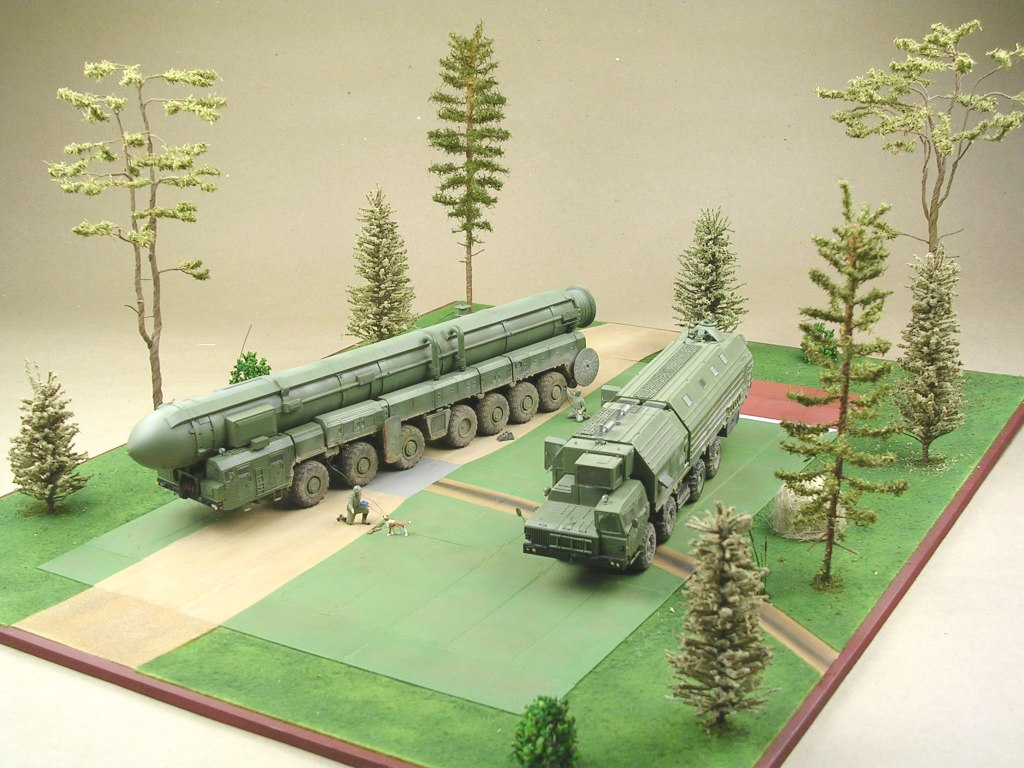 Dioramas and Vignettes: MOBD Sickle on firing position, photo #8