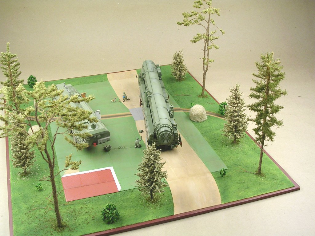 Dioramas and Vignettes: MOBD Sickle on firing position, photo #9