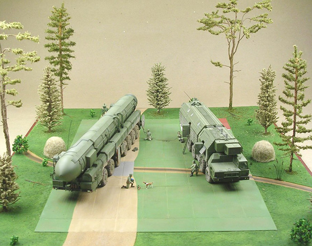 Dioramas and Vignettes: MOBD Sickle on firing position