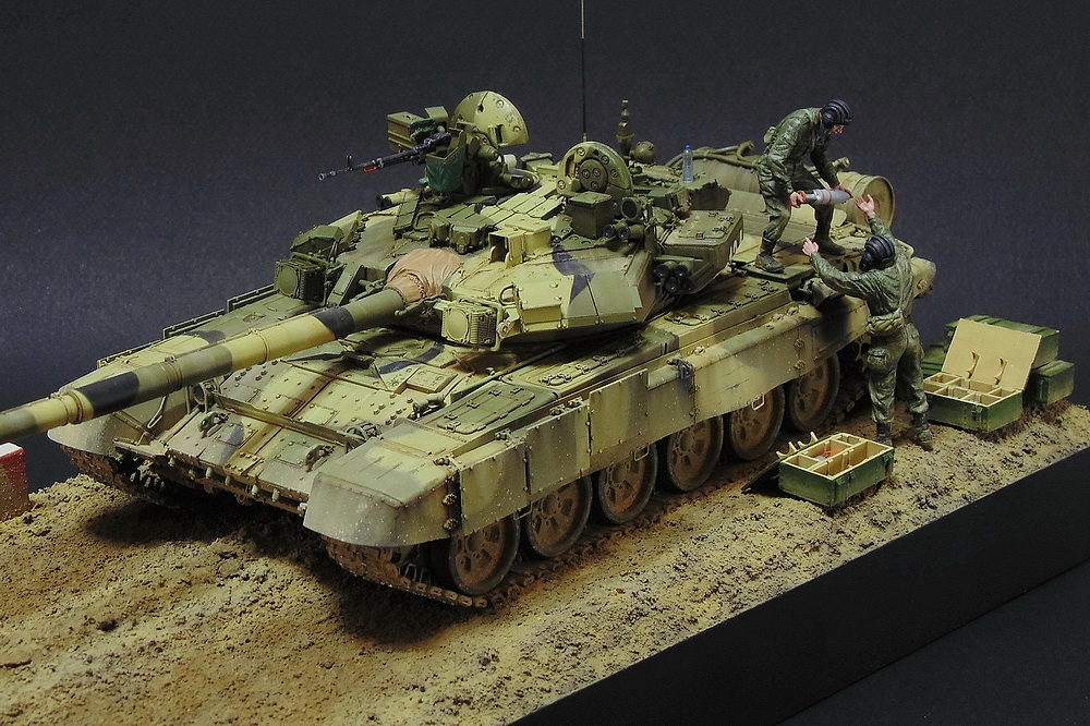 Dioramas and Vignettes: T-90A. Ammo loading, photo #1