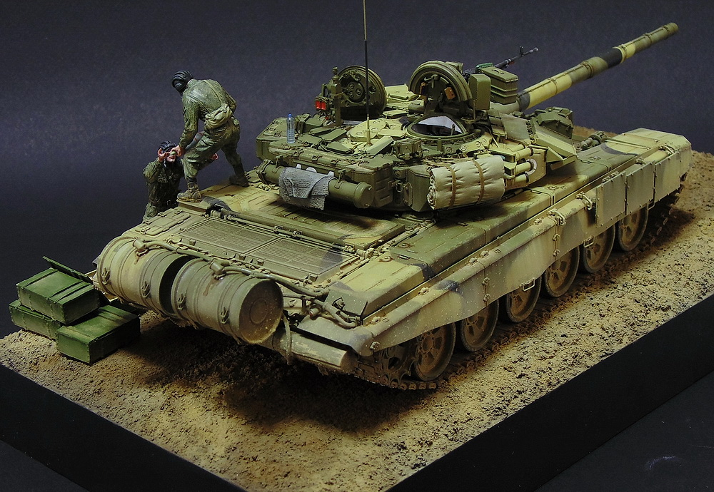 Dioramas and Vignettes: T-90A. Ammo loading, photo #10