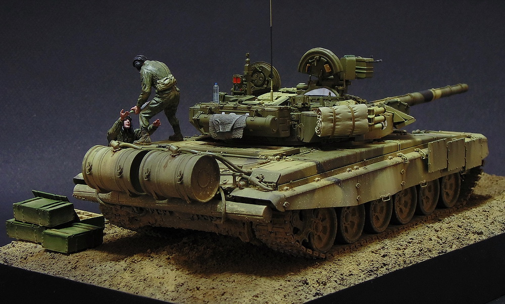 Dioramas and Vignettes: T-90A. Ammo loading, photo #14