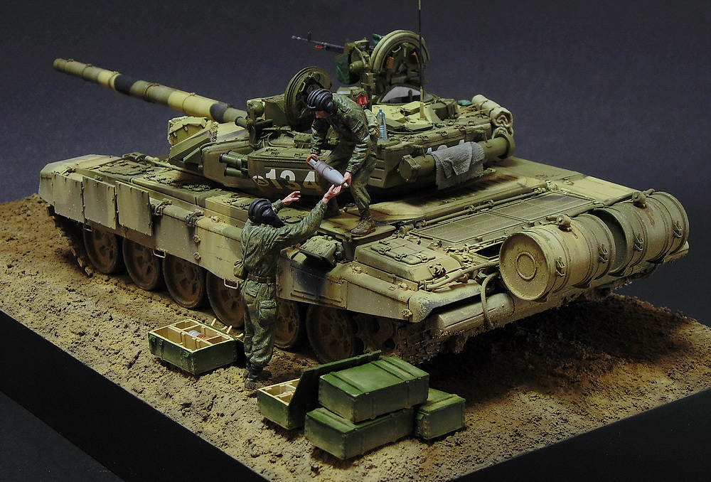 Dioramas and Vignettes: T-90A. Ammo loading, photo #15