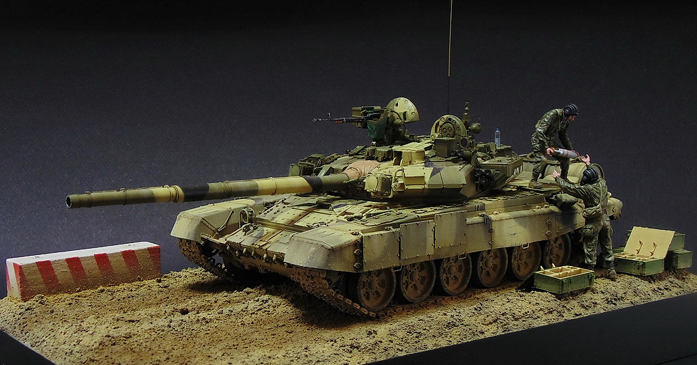 Dioramas and Vignettes: T-90A. Ammo loading, photo #17