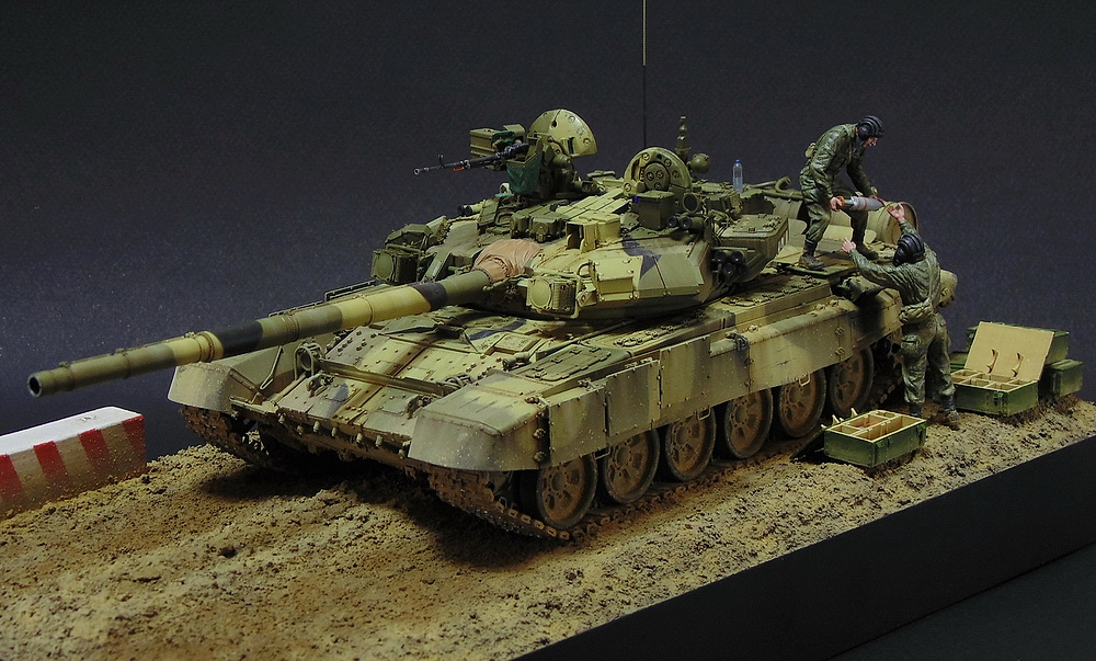 Dioramas and Vignettes: T-90A. Ammo loading, photo #2