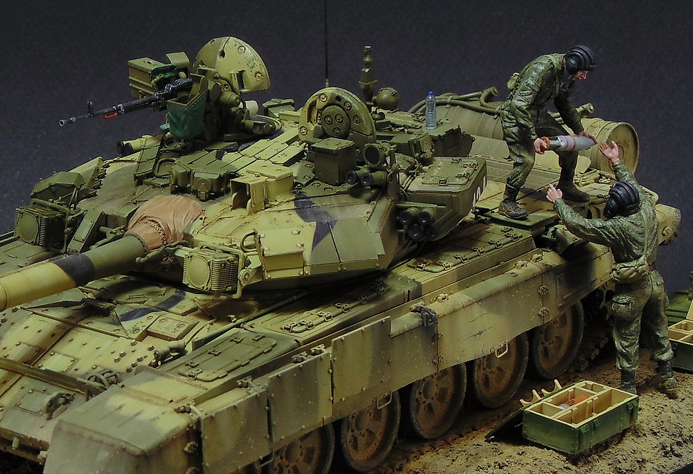 Dioramas and Vignettes: T-90A. Ammo loading, photo #4