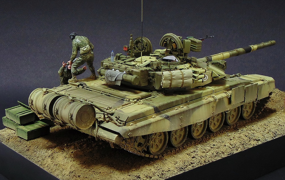Dioramas and Vignettes: T-90A. Ammo loading, photo #5