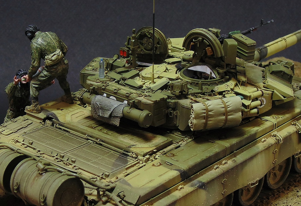 Dioramas and Vignettes: T-90A. Ammo loading, photo #6