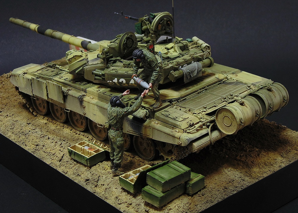 Dioramas and Vignettes: T-90A. Ammo loading, photo #8