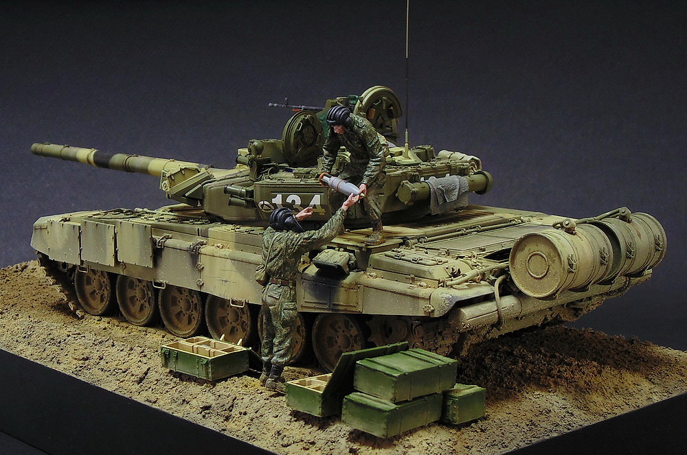 Dioramas and Vignettes: T-90A. Ammo loading, photo #9