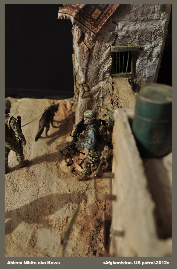 Dioramas and Vignettes: Patrol in Afghan province, 2012, photo #10