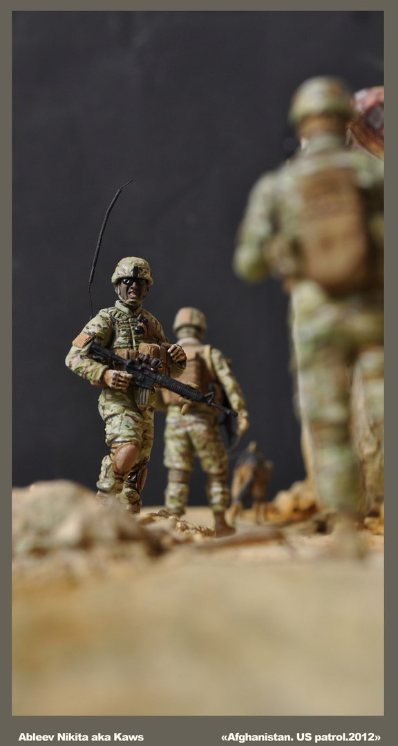 Dioramas and Vignettes: Patrol in Afghan province, 2012, photo #11