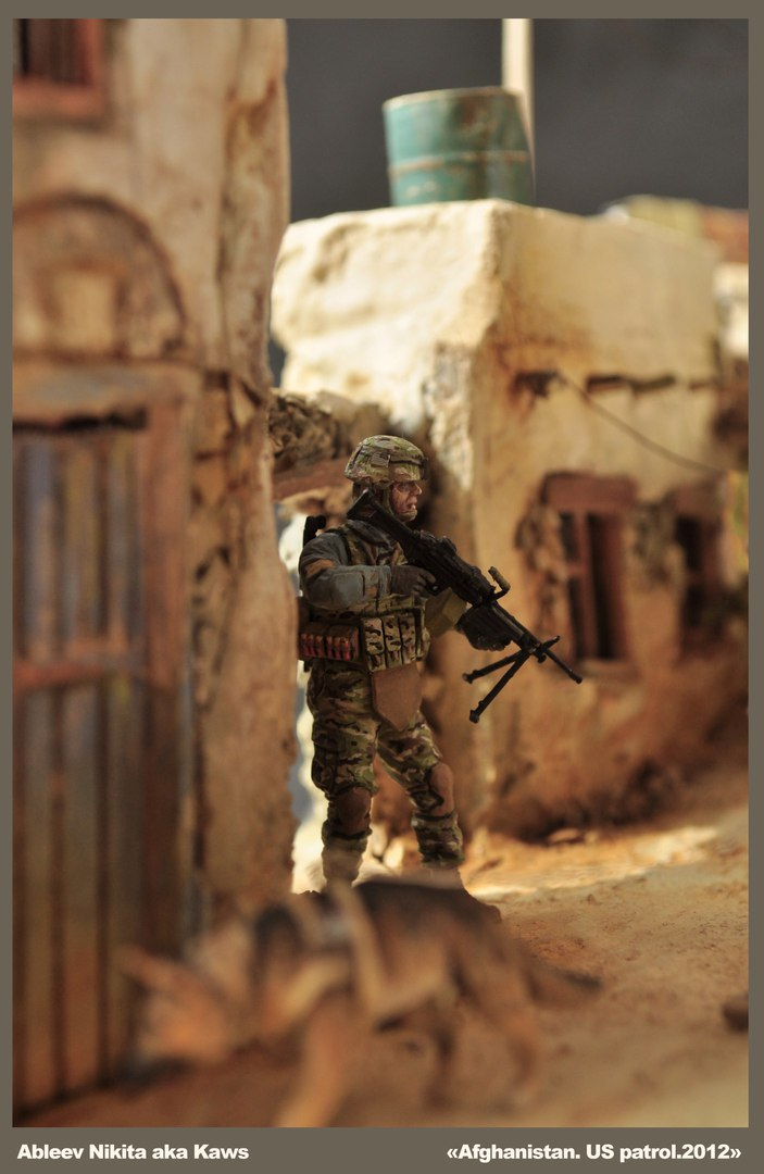 Dioramas and Vignettes: Patrol in Afghan province, 2012, photo #12
