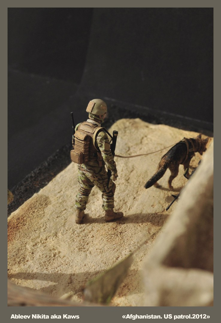 Dioramas and Vignettes: Patrol in Afghan province, 2012, photo #13