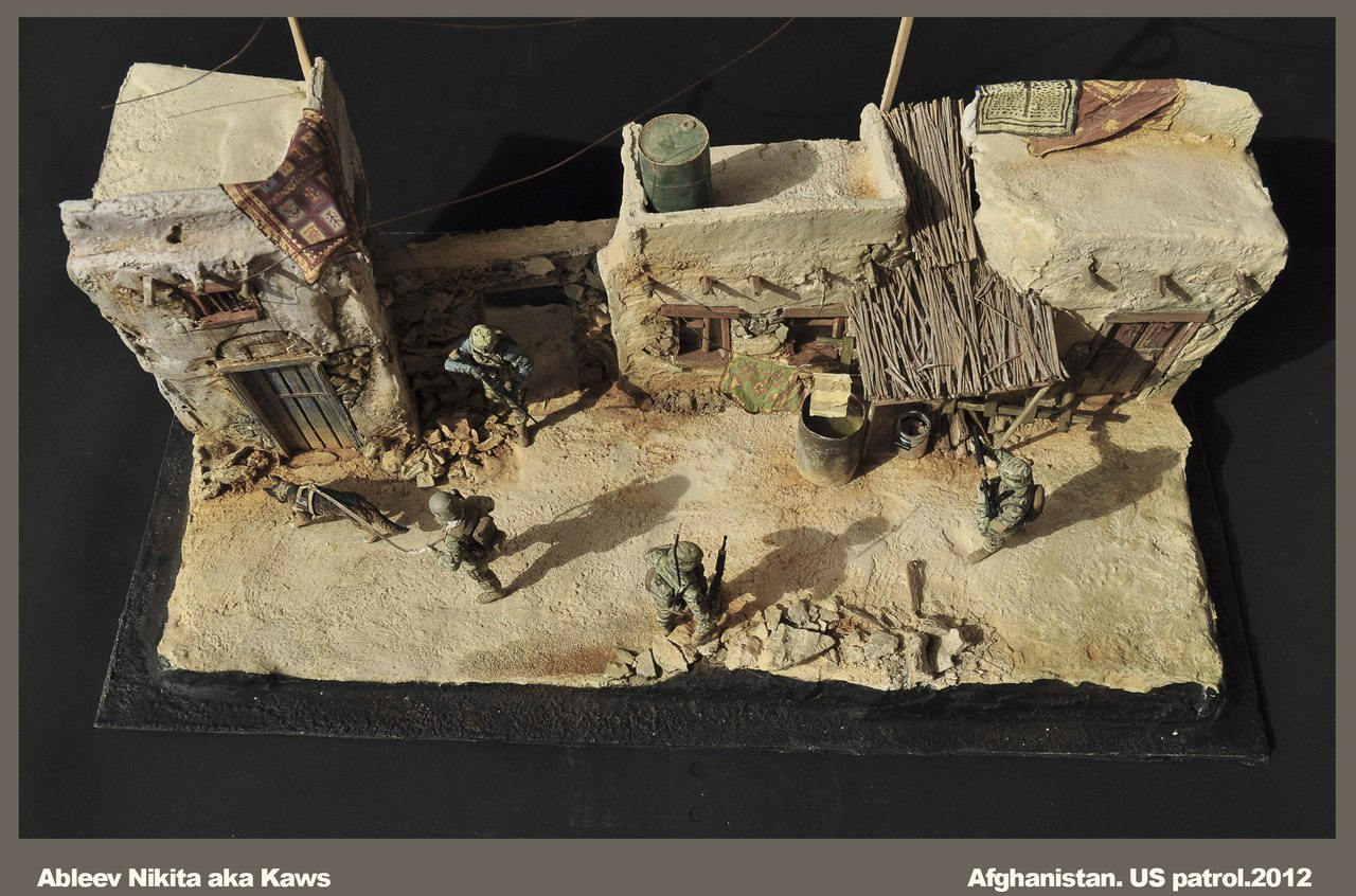 Dioramas and Vignettes: Patrol in Afghan province, 2012, photo #14