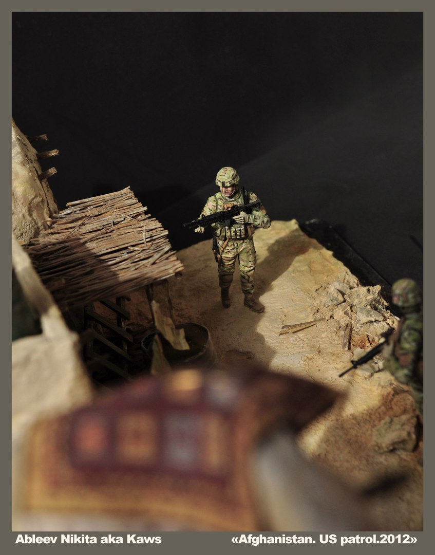 Dioramas and Vignettes: Patrol in Afghan province, 2012, photo #15